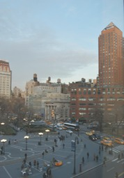 union square twilight